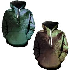 Couple Hoodies, 3D hoodies, Fashion, Animal