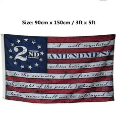 Blues, Polyester, Star, 2ndamendmentamericanflag