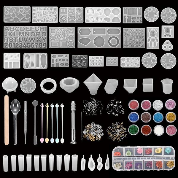 castingmoldskit, diyjewelry, epoxyresinkit, siliconejewelrymold