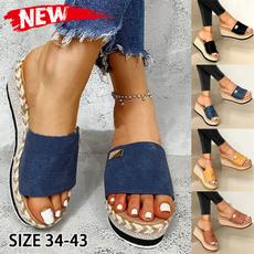 non-slip, Summer, slideslipper, Sandals
