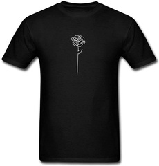 Funny, Graphic, Sleeve, Rose