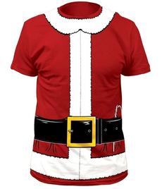 T Shirts, Cosplay, Costume, Santa