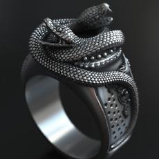 Jewelry, snakering, punk, punk rings