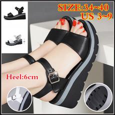 Summer, Sandals, wedge, Women's Fashion