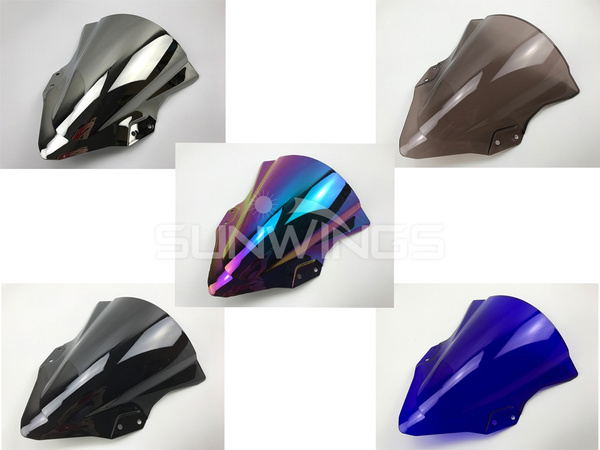 ninja, windshield, windscreen, Kawasaki