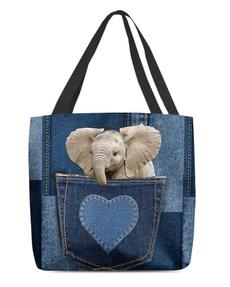 wishtotebag, Heart, customlabel0wishtotebag, Denim