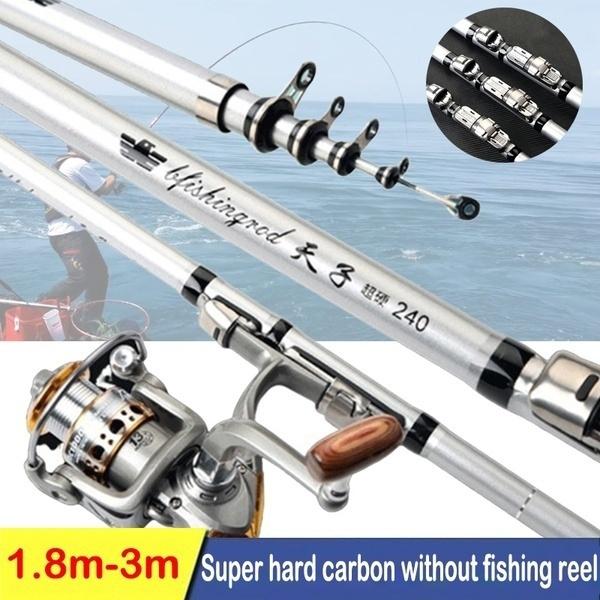 Fiber, Bass, fishingrod, telescopicfishingrod