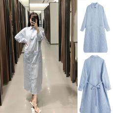 Plus Size, long skirt, Woman, Shirt