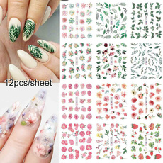 Nails, Decor, flowernaildecoration, art