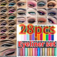 Eye Shadow, liquideyeliner, Metallic, Beauty