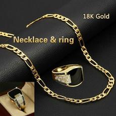 ringsformen, Chain Necklace, Moda, Joyería