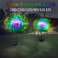 Home & Kitchen, solarpoweredgadget, fireworklight, Garden