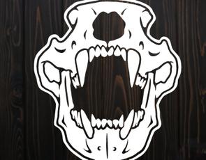 Car Sticker, Home Decor, skull, Nature