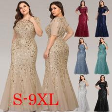 Plus Size, Elegant, Evening Dress, Dress