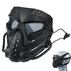 Helmet, Hunting, Combat, Goggles