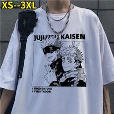 Fashion, Shirt, Sleeve, animeprint