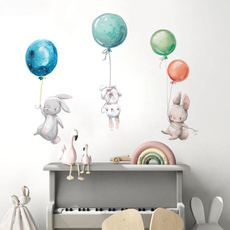 living room, Colorful, balloonwallsticker, Stickers