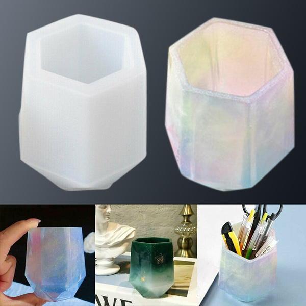 Craft Supplies, siliconepenholder, Crystal, epoxyresinmold