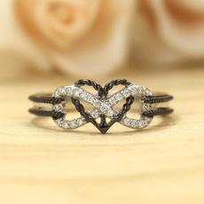 Heart, Love, wedding ring, gold