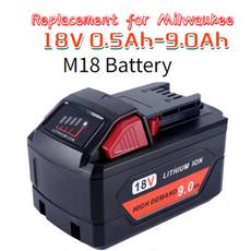 Battery, milwaukeem18, milwaukeebatterym18, milwaukeebattery