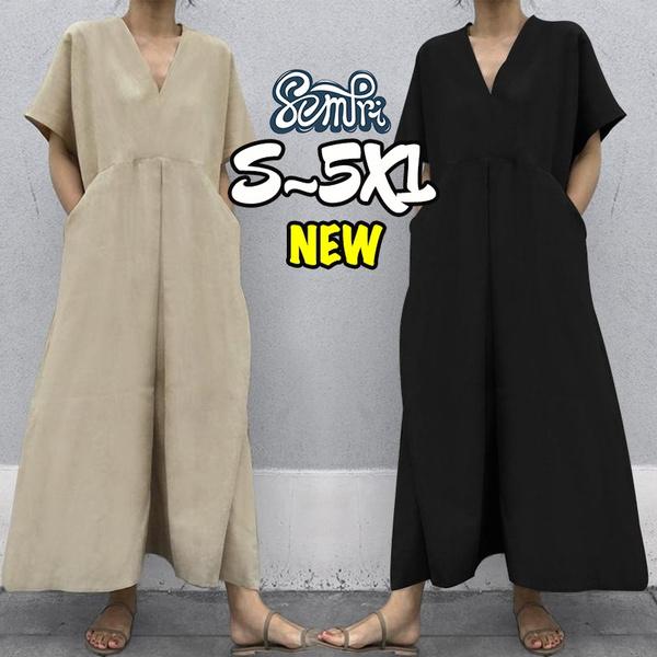 Summer, Shorts, Cotton, Necks
