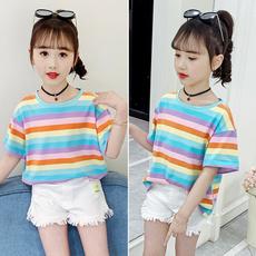 Tops & Tees, summer t-shirts, Cotton, rainbowshirt