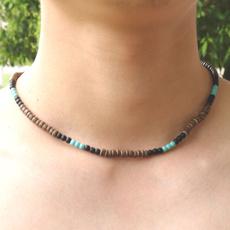 Goth, short necklace, Handmade, Men