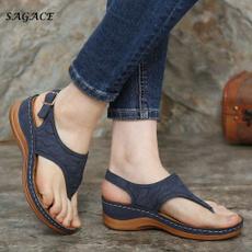 Summer, Sandals, Vintage, Beach