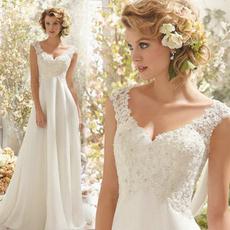 gowns, Lace, chiffon, noiva