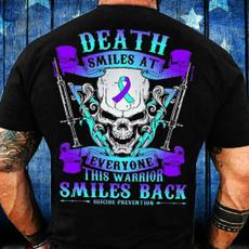 warrior, death, Shirt, skull
