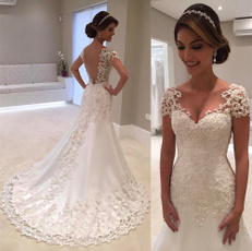 gowns, Cap, Lace, Sleeve