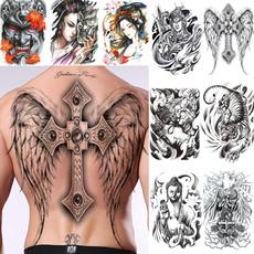 tattoo, Men's Fashion, Angel, Waterproof