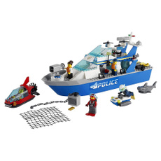 Shark, rescue, Lego, Scooter