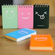 Mini, Colorful, spiralnotepad, Cover