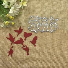 Craft, Scrapbooking, embossingfolderdie, birdsdecorationmetalcuttingdie
