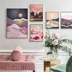 pink, pinkposter, Decor, posters & prints