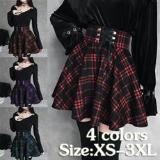 Mini, Goth, Moda, Encaje