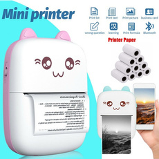 miniprinter, Mini, wirelessprinter, printerpaper