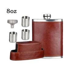 Steel, Mini, portableflask, winebottle