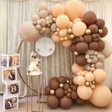 decoration, Garland, brown, birthdaypartydecoration