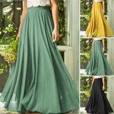 jupefemme, long skirt, Plus Size, high waist