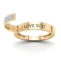 DIAMOND, Love, wedding ring, gold