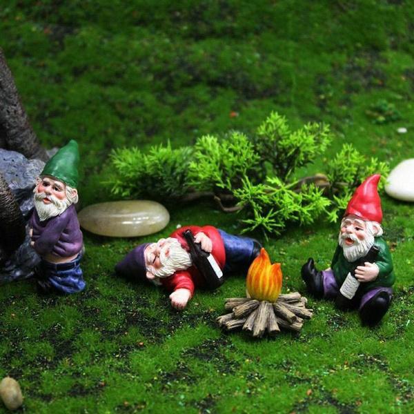 Home Decor, gnomegarden, gnomedoll, Wizard