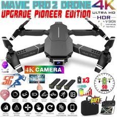 Quadcopter, 4ksmartdrone, Teléfono, Mobile