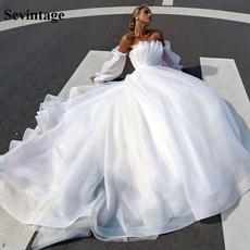 gowns, sevintage, Princess, Sleeve