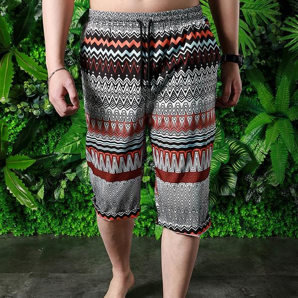 Summer, tropicalshort, Hawaiian, Elastic