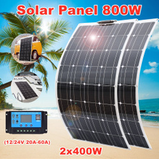 solpanel, rv, charger, camping