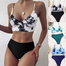 Summer, two piece swimsuit, Womens Swimsuit, Bikini swimwear