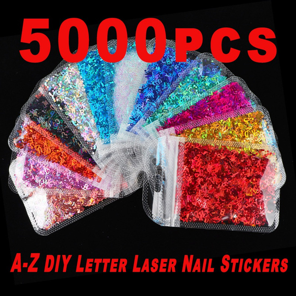 nail decoration, polymer, nail stickers, Laser