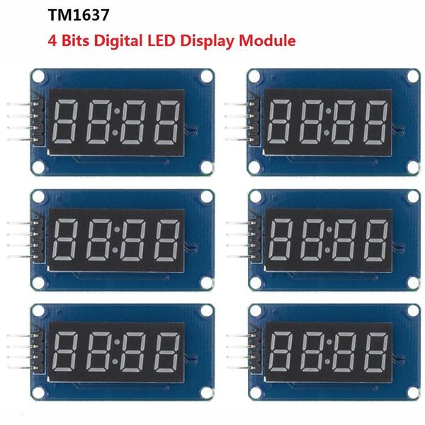 tm1637driver, led, forarduino, tm1637clock